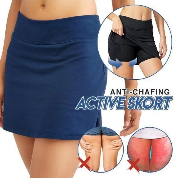Ultra-thin Breathable Workout Pleated Skort -  Buy 2 Free Shipping