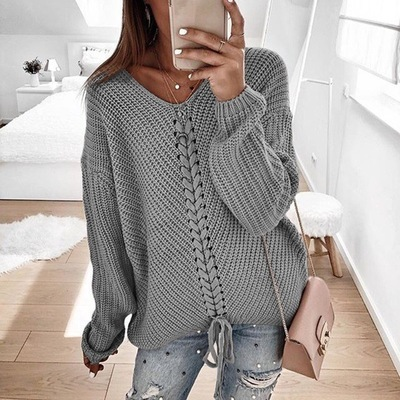 Knitted Women Pullover Sweaters
