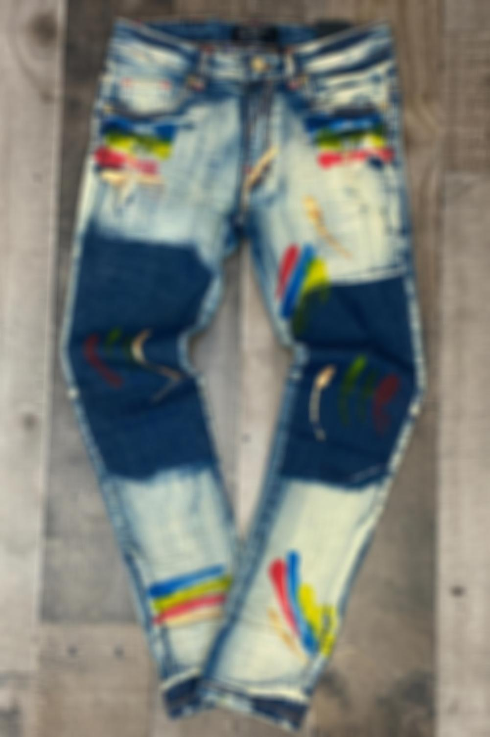 Street Graphic Jeans