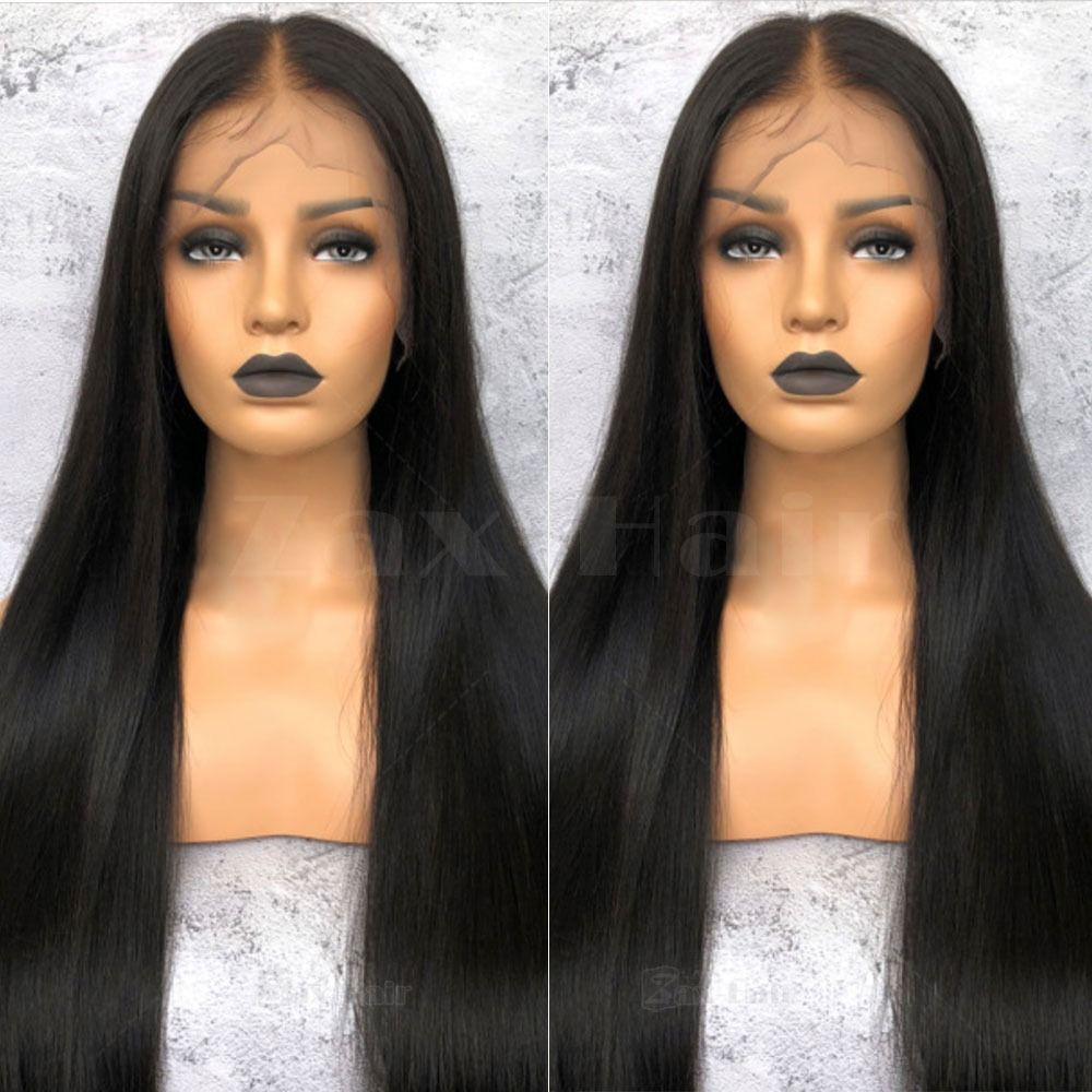 2020 New Straight Wigs Black Long Hair Straight Hair Lace Front Wigs Natural Hair Wigs For Black Hair