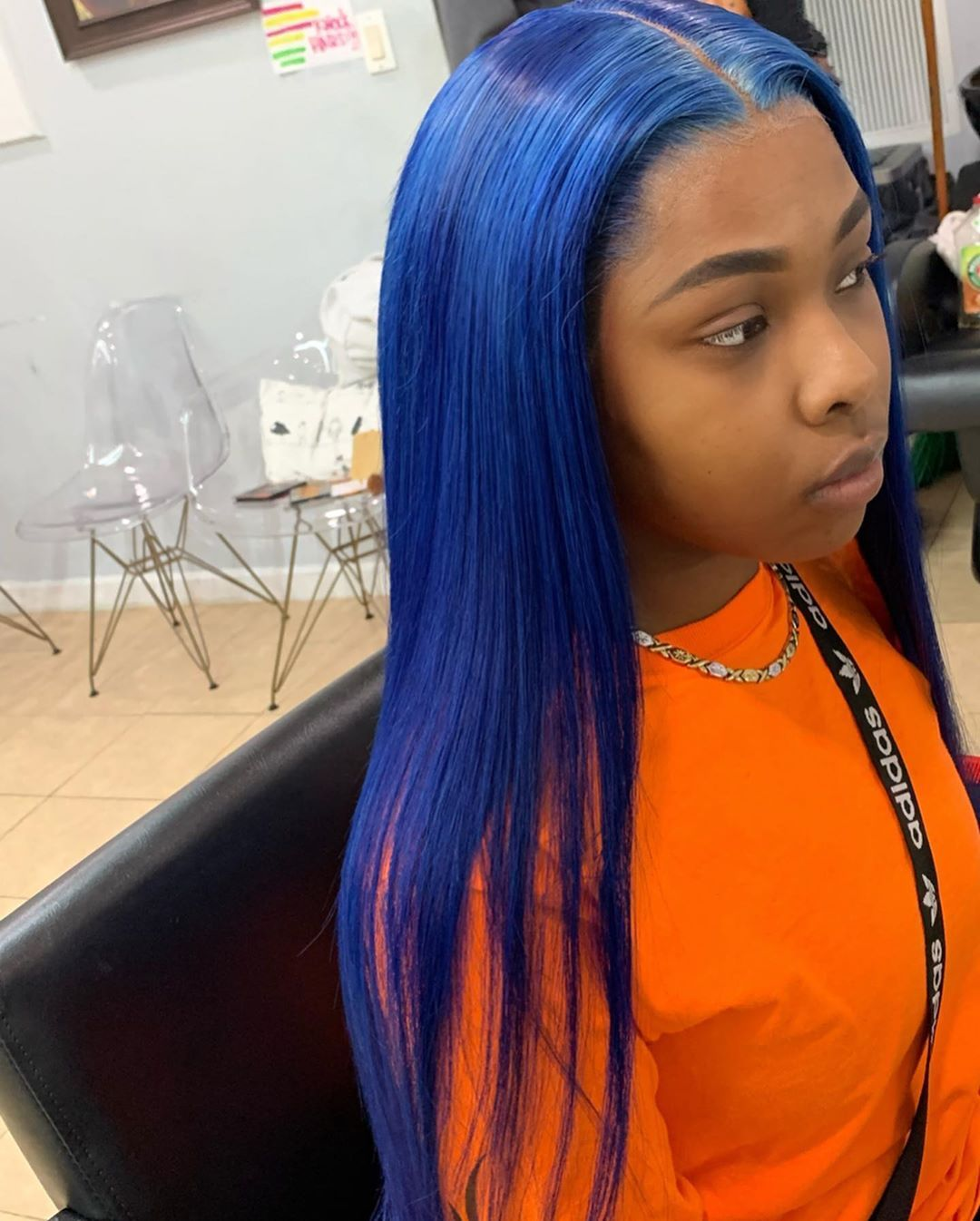 Blue Wigs Lace Frontal Wigs Cheap Human Wigs Adore Hair Color Blue Light Blue Grey Hair Blue Ombre Hair