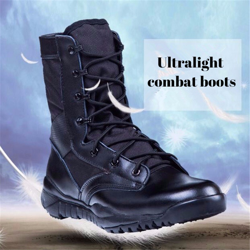 【ON SALE AT 50%OFF】Men's Security Staff Combat Tactical boots - Buy 2 Free Shipping