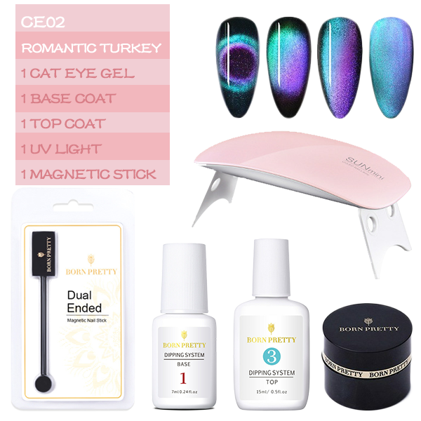 (Last Day Promotion&50% OFF)BORN PRETTY™ Holographic Magnetic Cat Eye Nailpolish