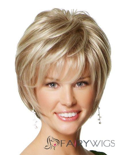 2020 Fashion Ombre Blonde Wigs Black Lace Front Human Hair Wigs