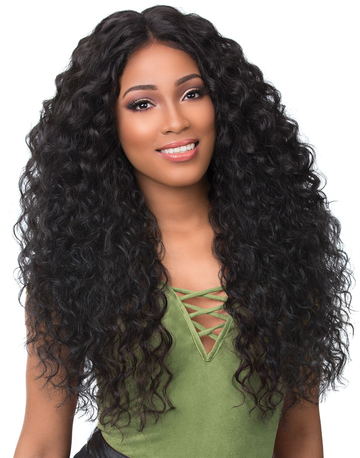 Lace Front Wigs Black Curly Hair Peruvian Deep Curly Hair Highest Rated Wigs Loose Wave Wig