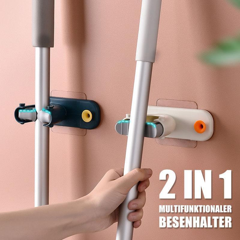 2 In 1 Multifunktionaler Besenhalter