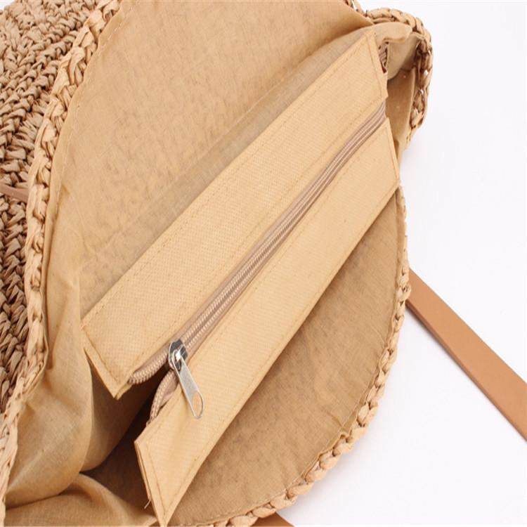 Women Summer Hollow Handbags Straw Beach Bags Bohemian