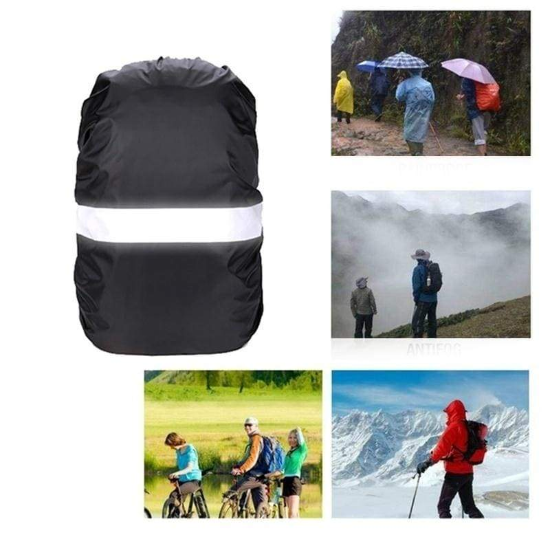 20L-80L Waterproof Backpack Rain Cover With Reflective Strap For Hiking Camping Hunting Rain Cycling