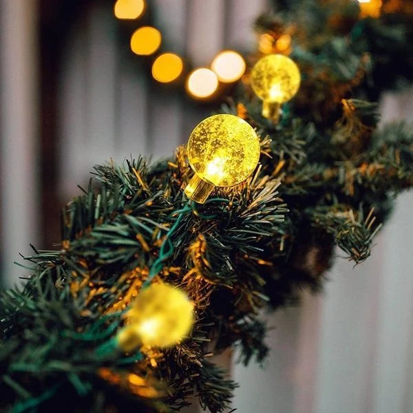 SOLAR POWERED LED OUTDOOR STRING LIGHTS-😍 BUY 2 FREE SHIPPING😍