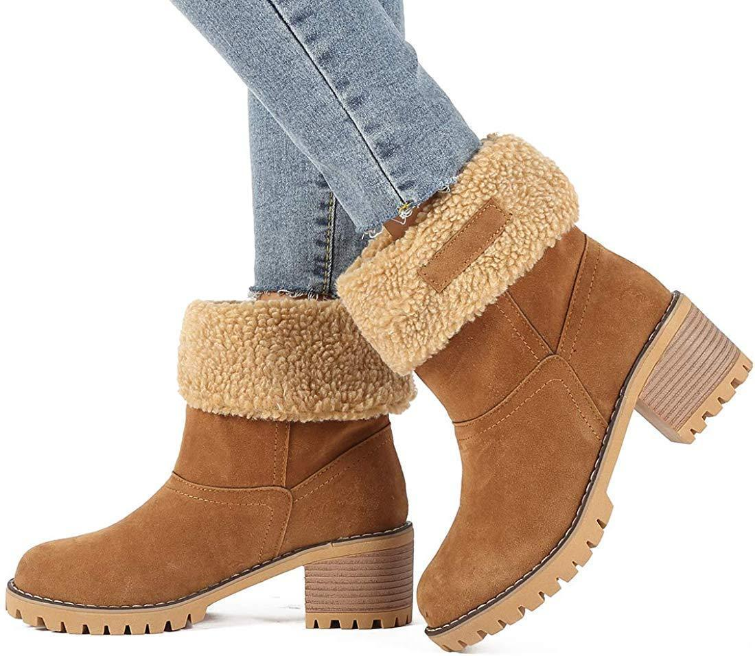2020 New Suede Snow Chunky Boho Boots (Buy 2 Get Free Shipping)