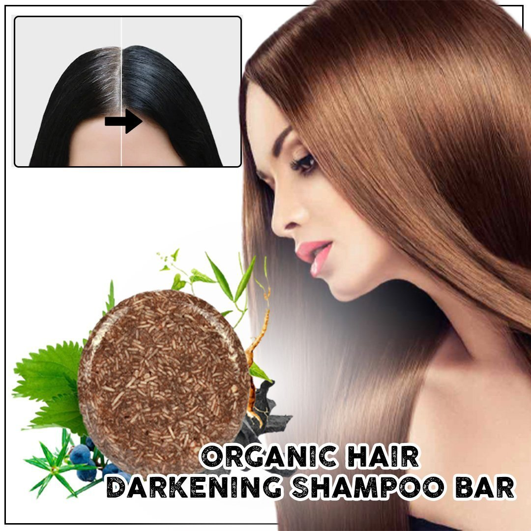 🔥 Buy 2 Get 1 FREE 🔥Organic Hair Darkening Shampoo Bar