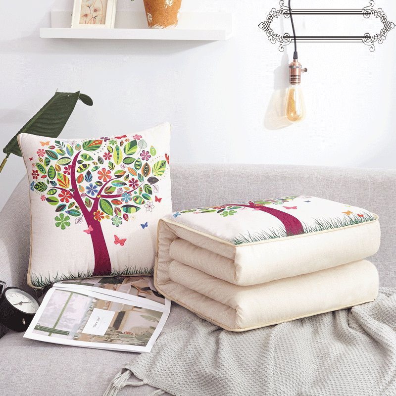 Foldable multifunctional pillow
