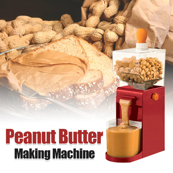 Peanut Butter Making Machine/Red - Delicious Manufacturing At Your Fingertips😍