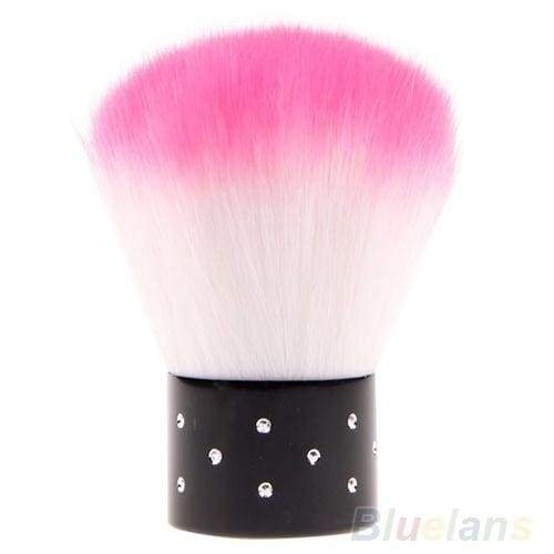 New Colorful Nail Brush For Acrylic & UV Gel Nail Art Dust Cleaner