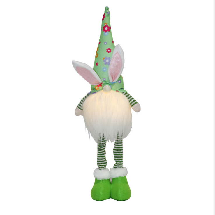 Easter Faceless Doll With Lights