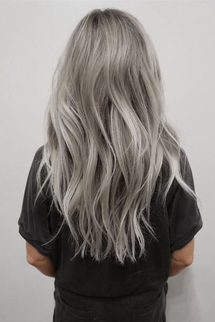 2020 New Gray Hair Wigs For African American Women Human Hair Bob Wigs For African American Pixie Cut Grey Coq10 Gray Hair Baby Pink Wig Betty Boop Wig