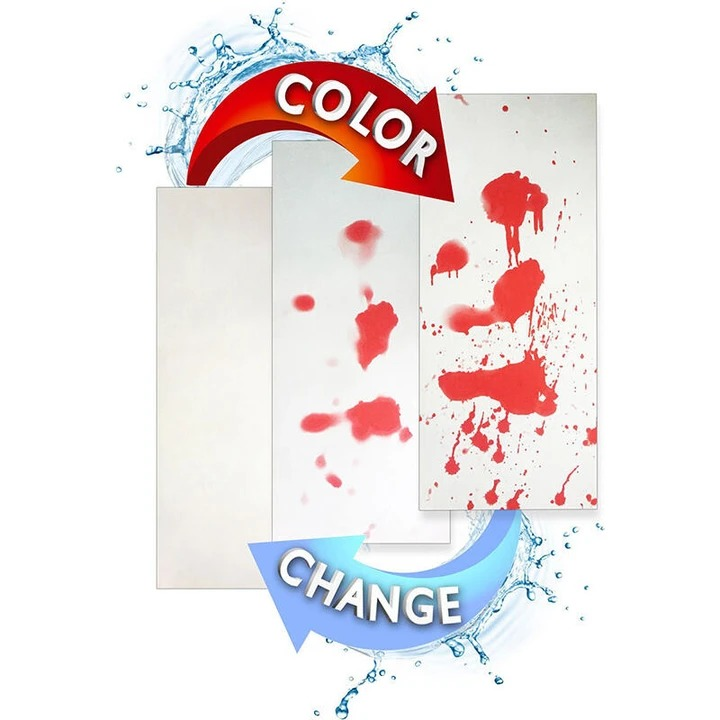 NEW! Color Changing Bloody Bath Mat !