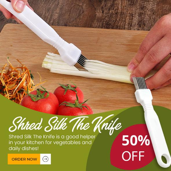 (❤️Mather's Day Flash Sale - 50% OFF) Shred Silk The Knife - Buy 2 Get 1 FREE
