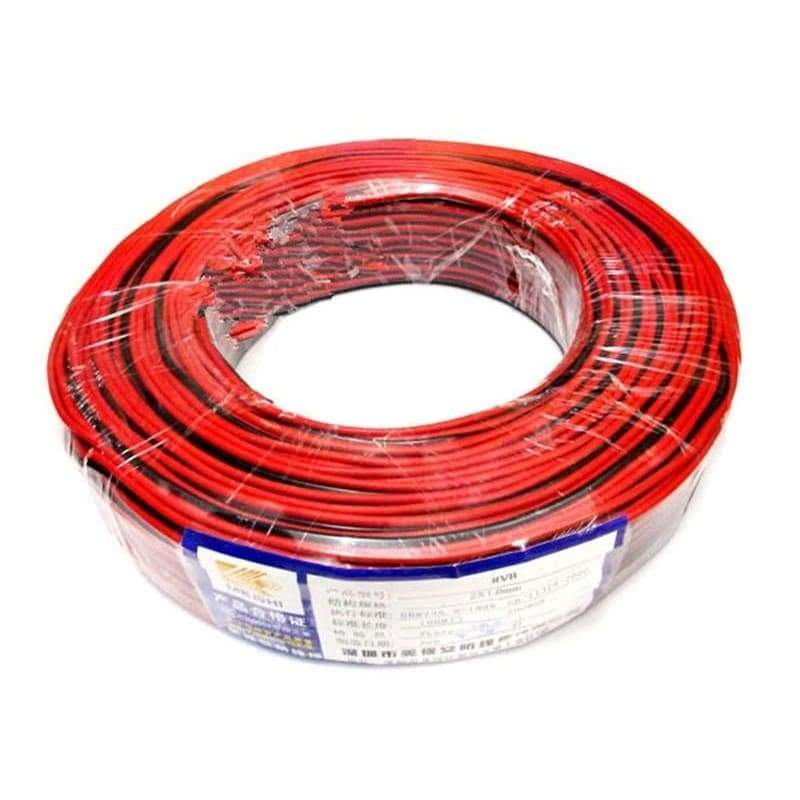 3M 10M 22AWG Wire 2Pin Tinned Copper Insulated PVC Wired Wire 22 AWG Electric Cable For 3528 5050 Single LED Strip Extension Cable Wire