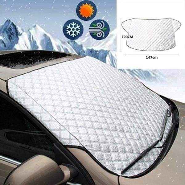 Car Accessories Car Covers Car Windscreen Cover Anti Snow Frost Ice Windshield Dust Protector Heat Sun Shade Car Window Screen Frost Ice Large Snow Dust Protector