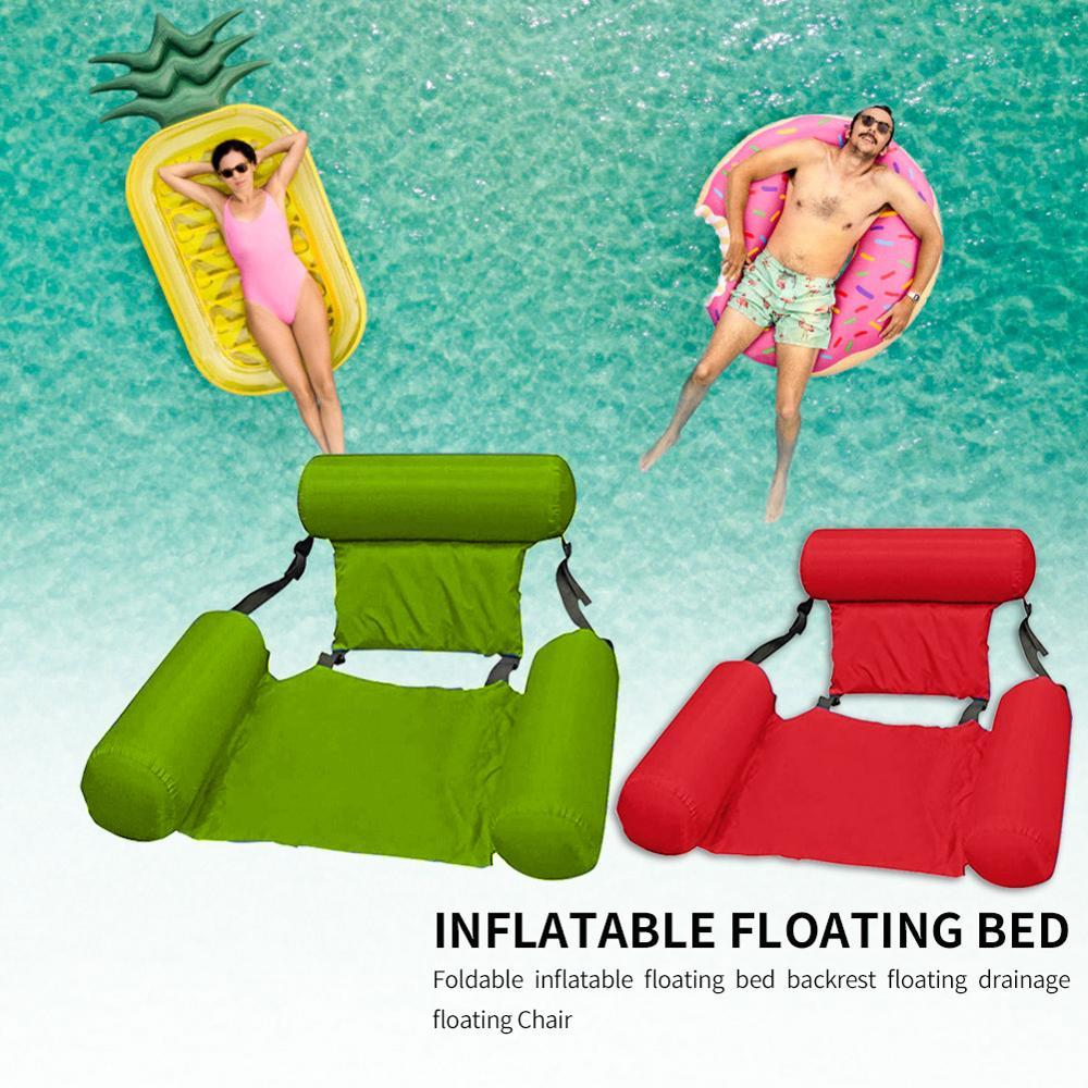 Swimming Floating Bed and Lounge chair (adjustable + Collapsable Chair/Bed)