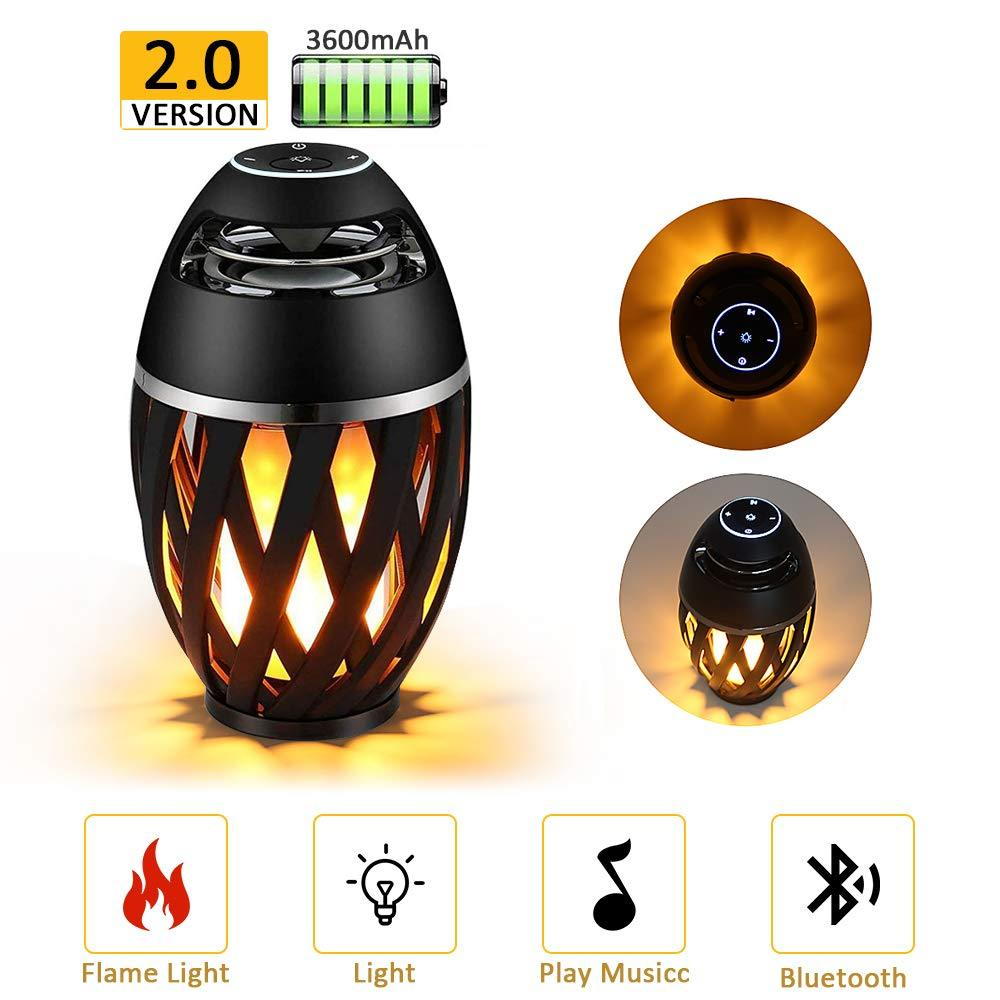 Flame light bluetooth speaker+Buy 2 Free Shipping