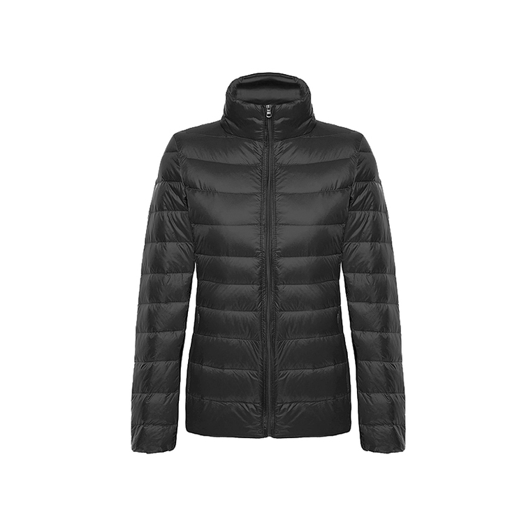 Half price-WOMEN-Ultra-lightweight down jacket-Stand-up collar (BUY 2 FREE SHIPPING)