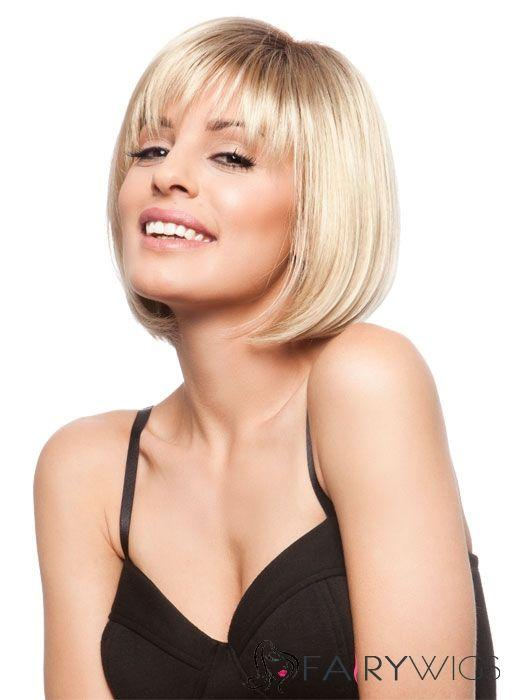 2020 Fashion Ombre Blonde Wigs 360 Lace Front Wigs Near Me