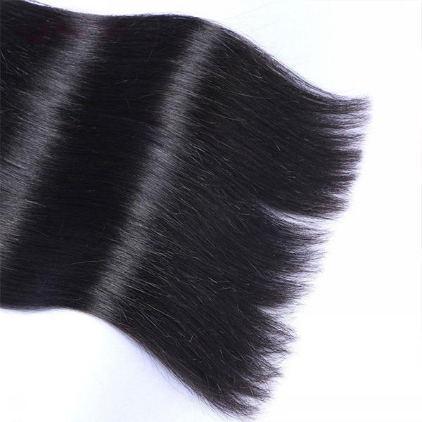 50% OFF Today!Straight Virgin Human Hair Weaving&Lace Closure