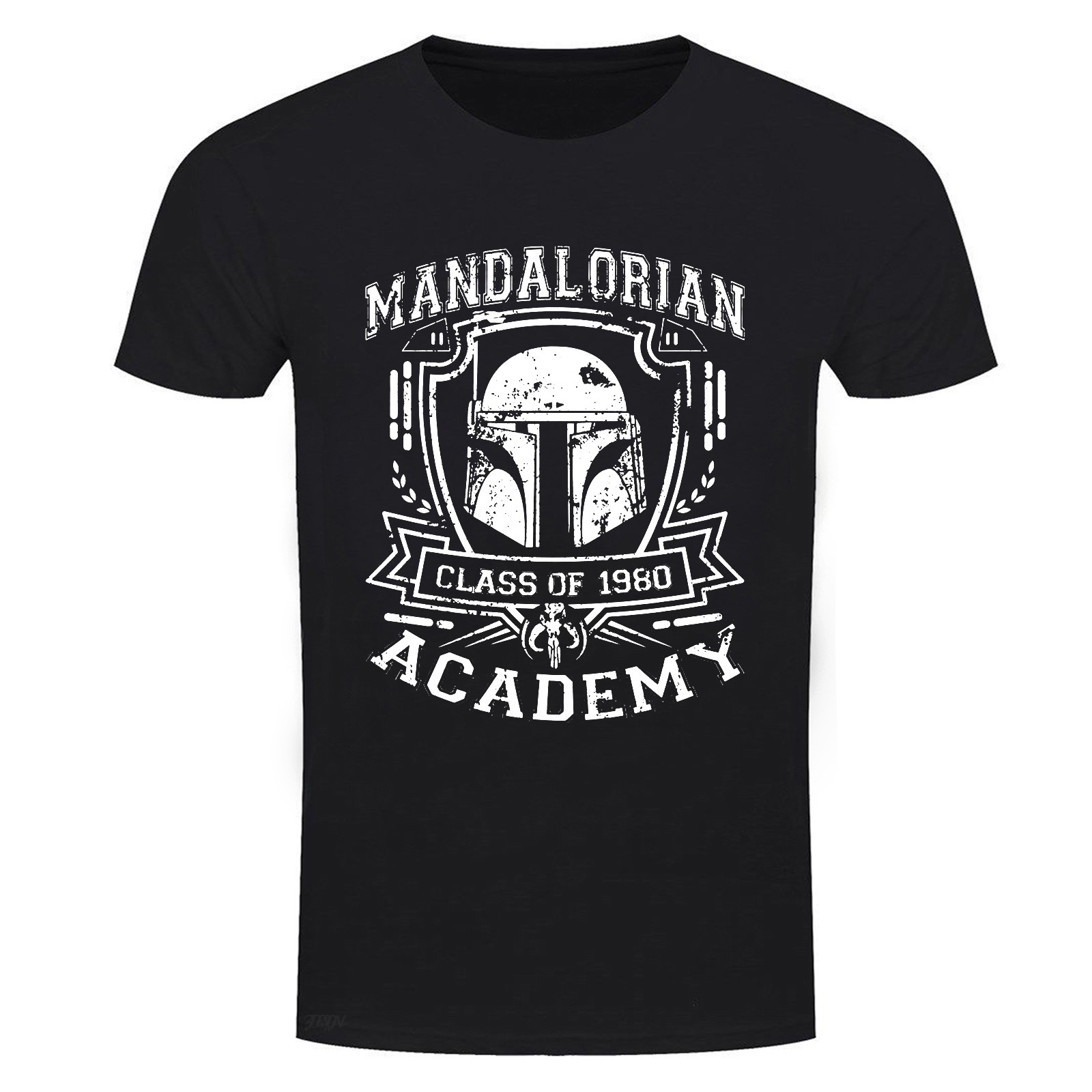Mandalorian Academy Mens T Shirt Graphic Tee Cotton Shirts Casual Fashion,Star,Wars Fun,Kult,Jedi,Stormtrooper