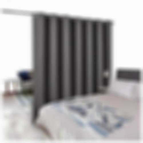 NICETOWN Room Divider Curtain Screen Partitions, Thermal Insulated Blackout Pati