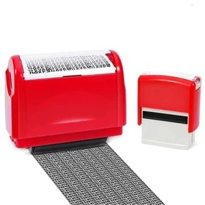 💥30% discount on hot promotions!Identity Theft Protection Roller Stamp Set-Black💥