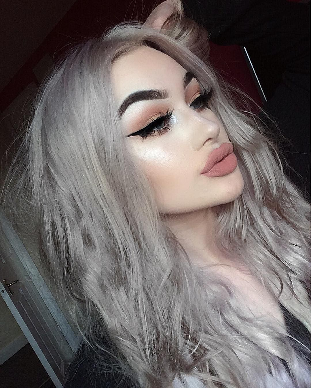 2020 Best Lace Front Wigs Long Grey Hair Men Highlight Ash Grey Brown Hair With Purple Highlights Blonde Highlighted Human Hair Wig