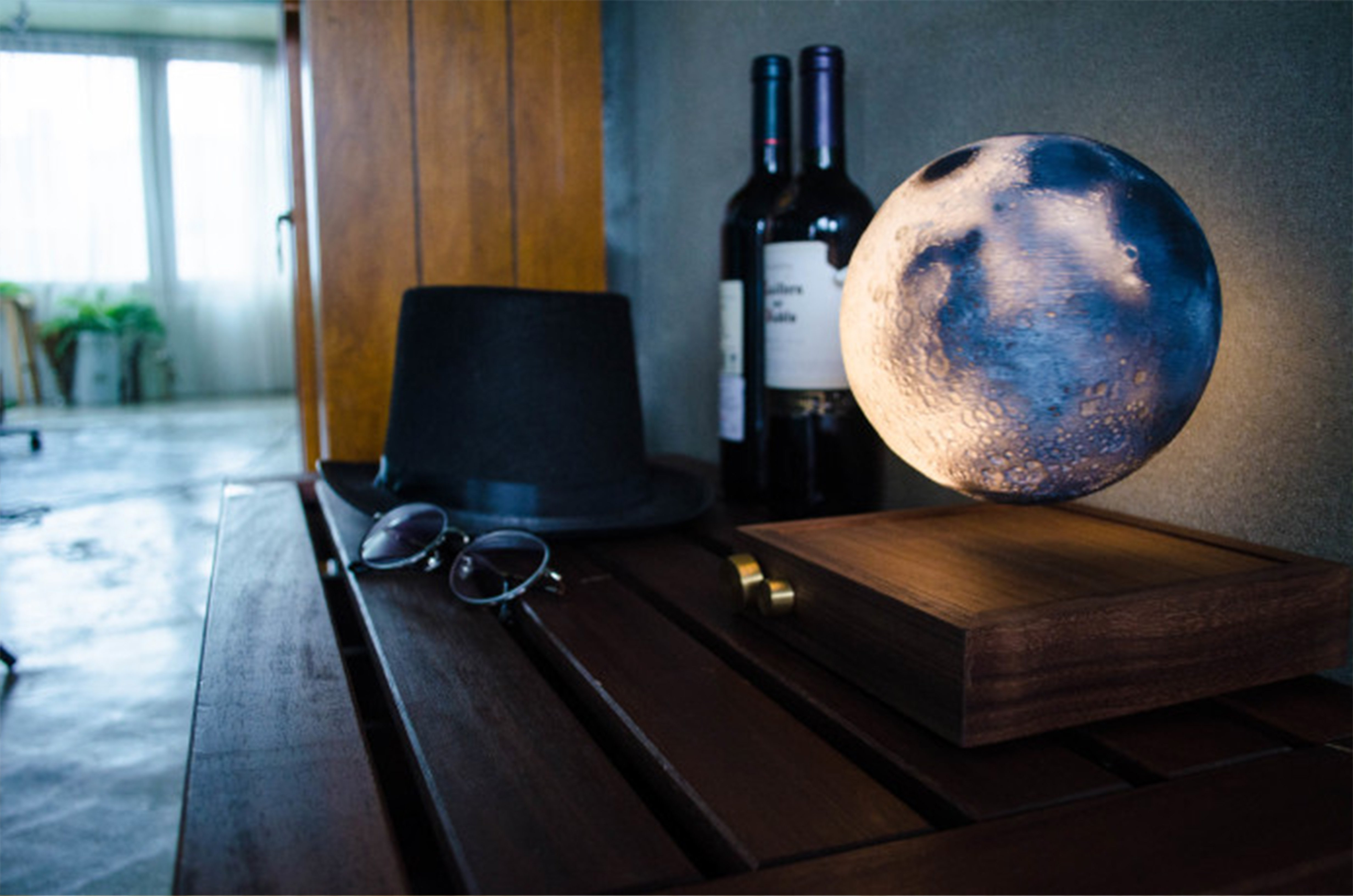 Chrismas Best Gift! 3D Modeling Ultimate Floating Moonlamp!