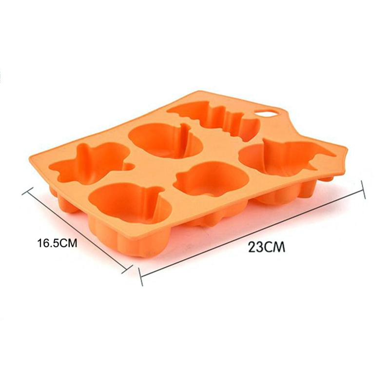 (Buy 2 free shipping)Halloween Holiday Style Silicone Cake Mold