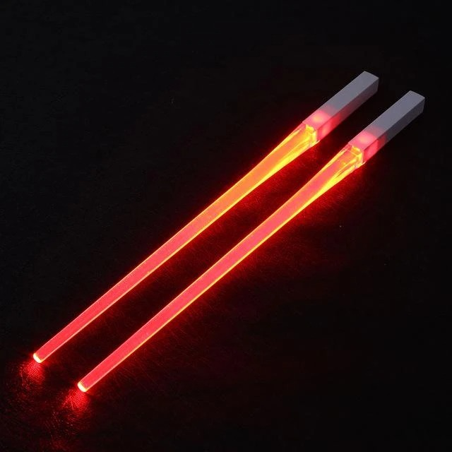 (CHRISTMAS PRE SALE - SAVE 50% OFF) Light-It-Up LED Glowing Chopsticks(1 pair) - Buy 3 Get Extra 20% OFF