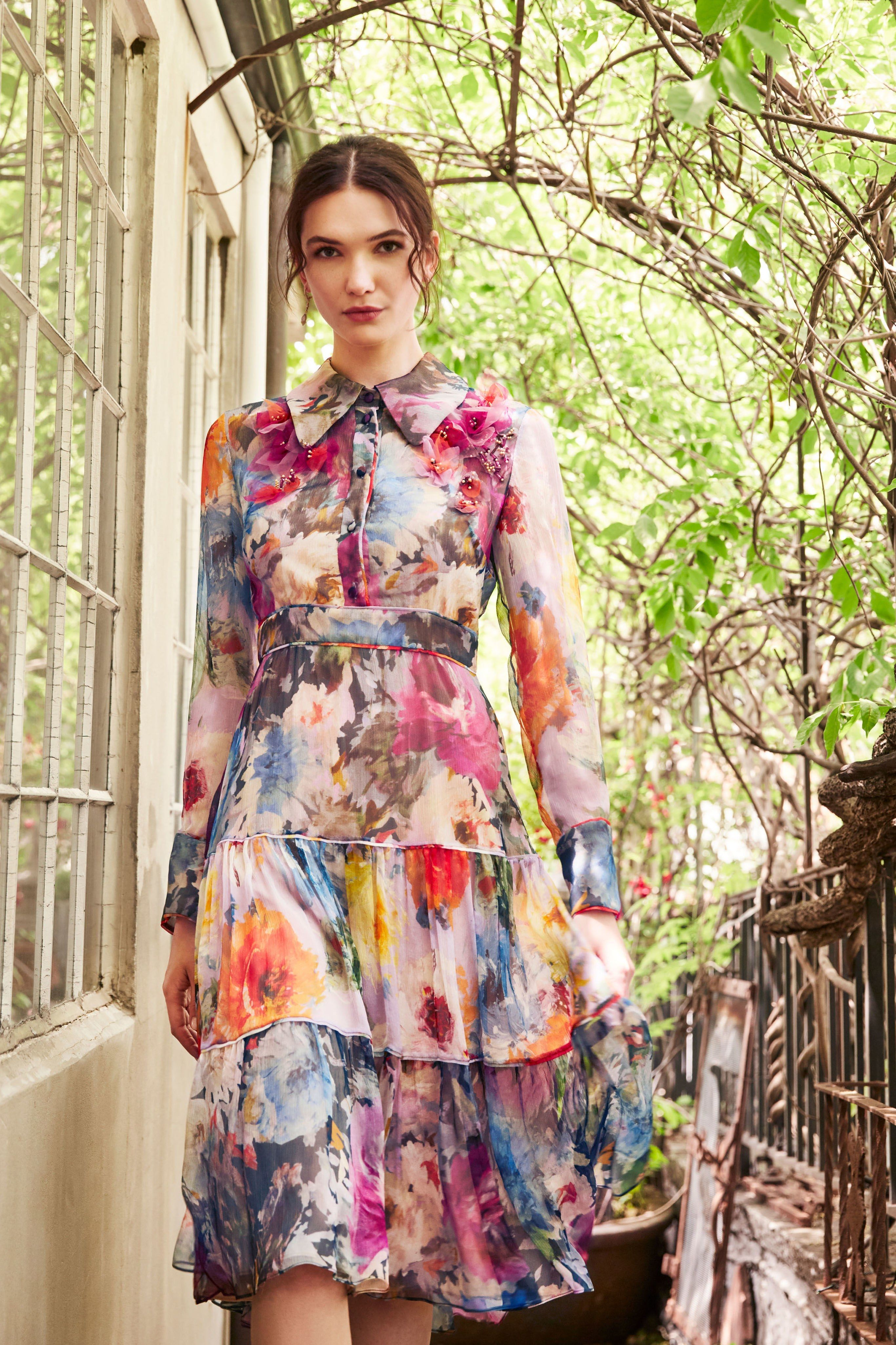 2020 Women Dress Casual Dress Print Gown Dress With Price Casual Dresses Uk