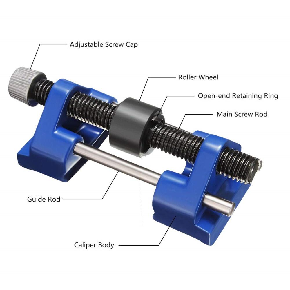 SKRTEN Chisel Sharpening Plane Iron Planer Blade JIG Side Clamping Fixed Angle Honing Guide