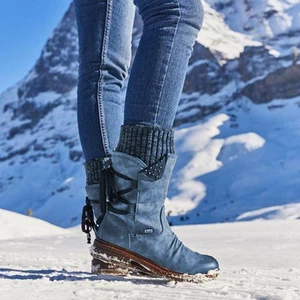 【SAVE $20 TODAY】Winter Warm Back Lace Up Boots FREE SHIPPING