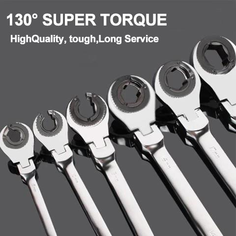 Tubing Ratchet Wrench (Purchase a set 30% OFF+Free Shipping)