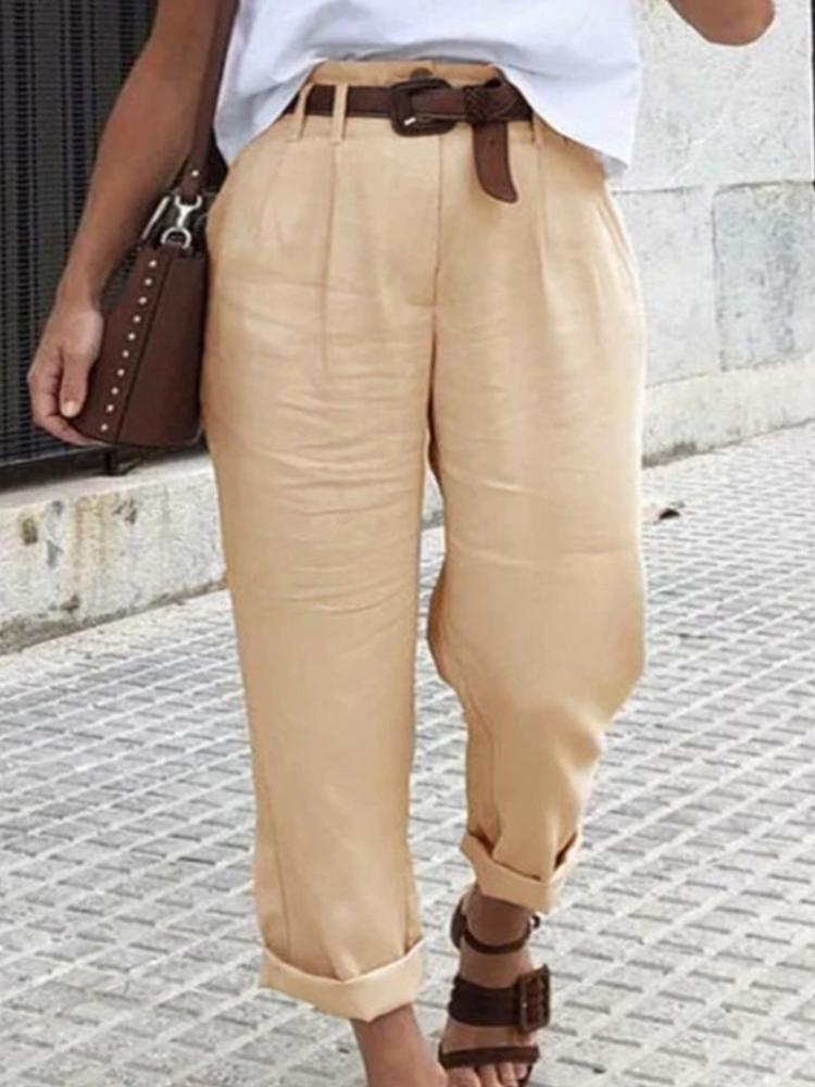 Women's Casual Loose-fit Pants