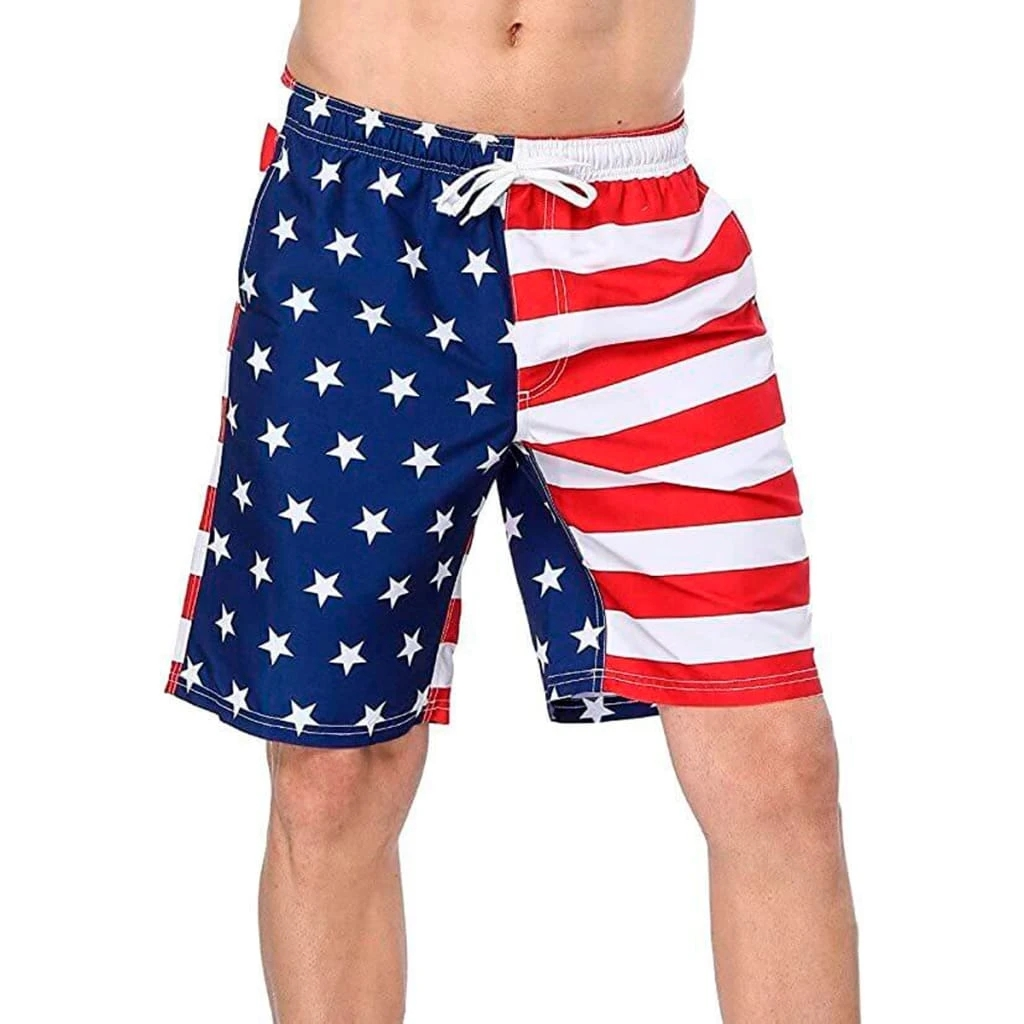 Men's American Flag Shorts
