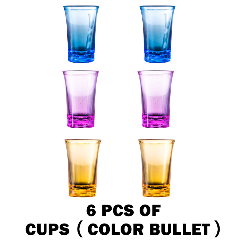 🔥 HOT SELLER 🔥6 Shot Glass Dispenser and Holder/Carrier Caddy Liquor Dispenser Party Gifts Drinking Games Shot Glasses Get The Party Started Faster!