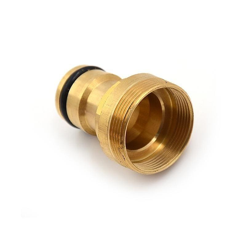 Home Kitchen Male Quick Connector Adaptor Water Hose Pipe Spray Tap Brass Nozzle Adapter
