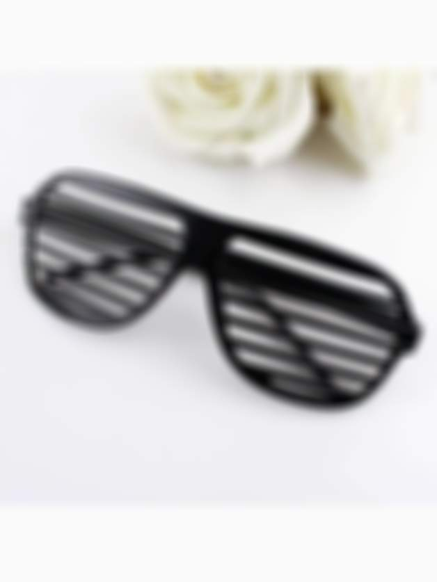 Random Color Colorful Hollow Out Square Sunglasses