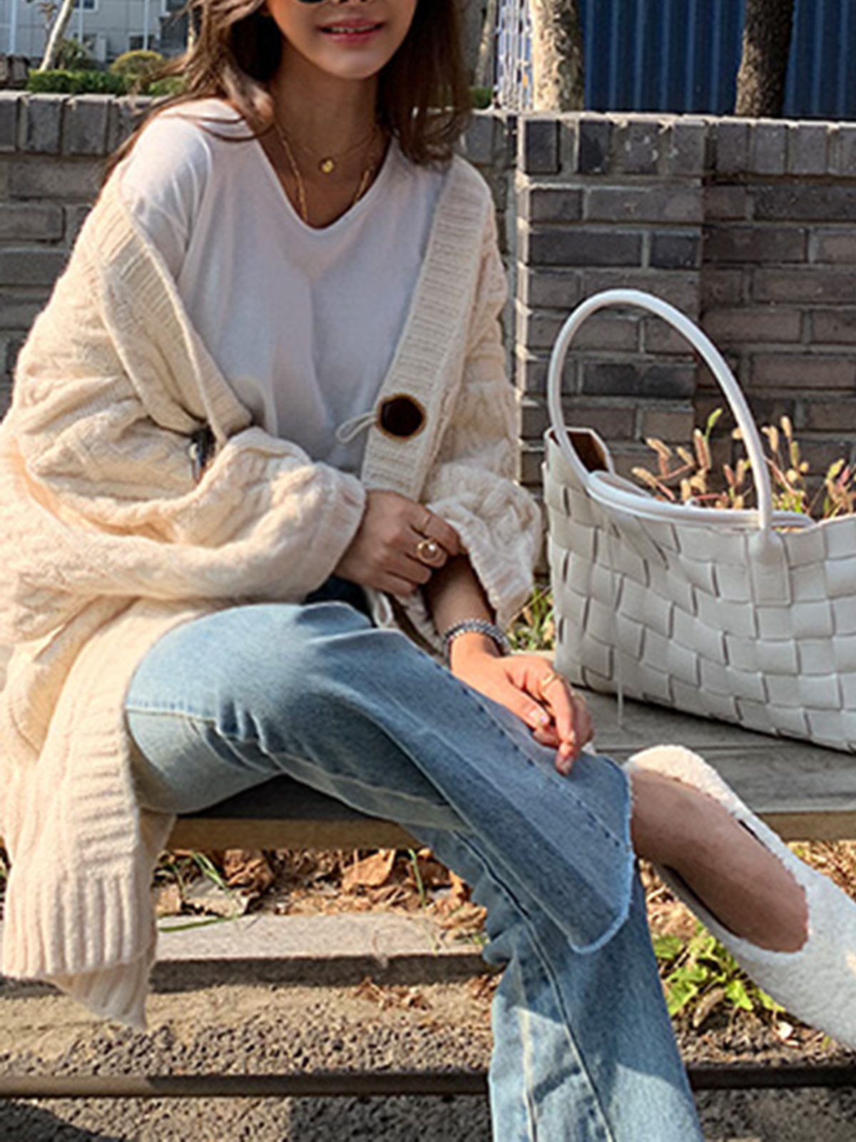 Casual Long Sleeve Plain with Jacket(Plus Size)