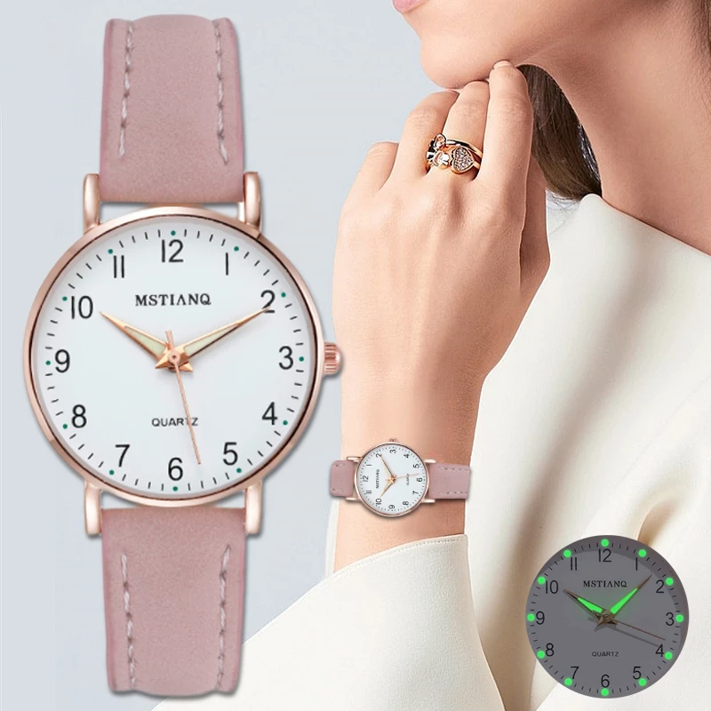 2020 NEW Watch Women  Casual Leather Belt Watches Simple Ladies'  Dress Wristwatches