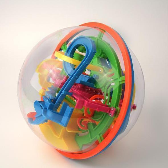 3D Puzzle Labyrinth Magic Ball Toy(April Fool's Day Sale)