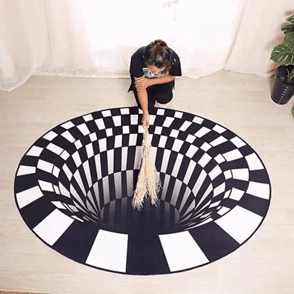 [Summer Sale & On Time Delivery] - Vortex Illusion Rug