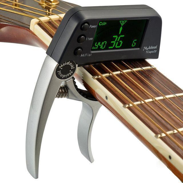 🎉Winter Sale 30% OFF - GUITAR TUNER CAPO (ACOUSTIC & ELECTRIC)